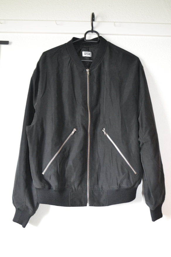Sort bomber jakke - Weekday