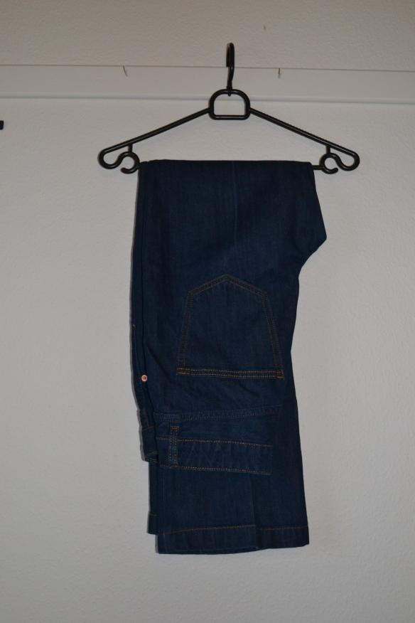 Mørkeblå kick flare jeans - H&M