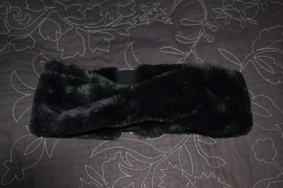 Sort pels pandebånd
