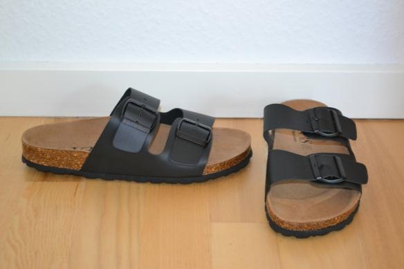 Sorte sandaler - VRS