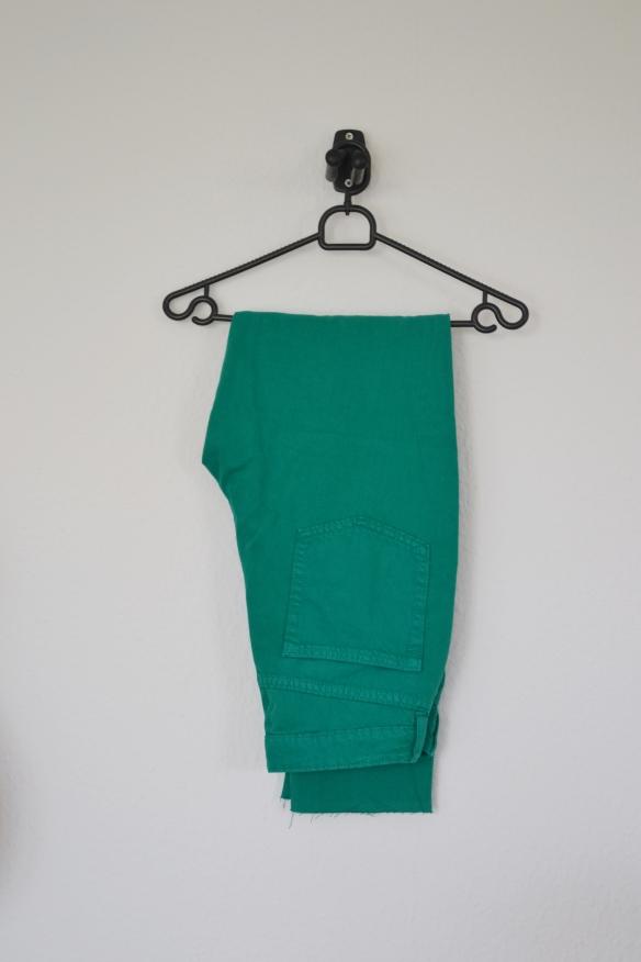 Grønne mom jeans - H&M