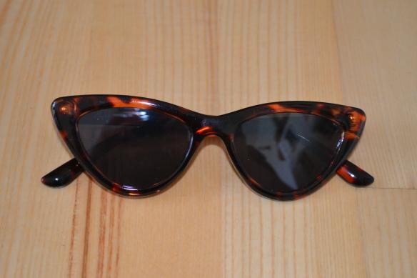 Tortoiseshell cat-eye solbriller