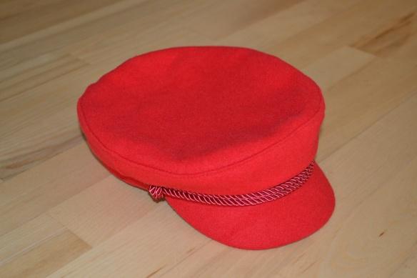 Rød baker boy cap - H&M
