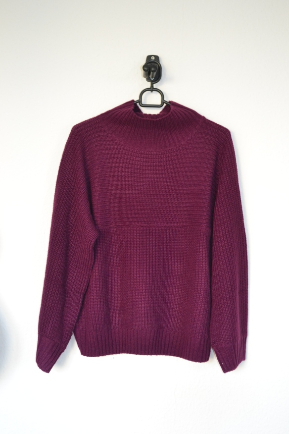 Blommefarvet sweater - Monki
