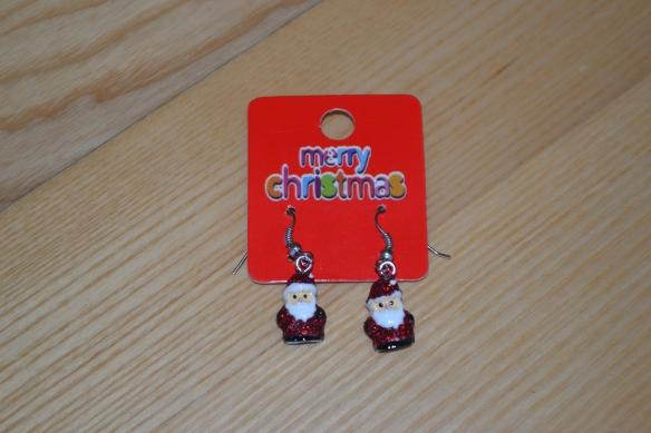 Øreringe med julemænd