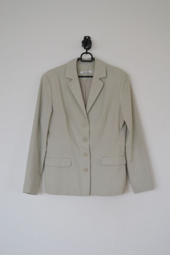 Beige blazer - second hand