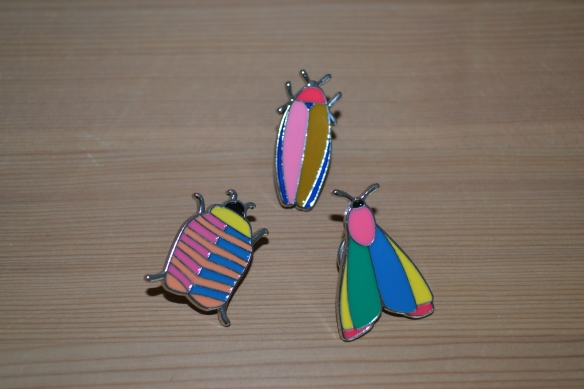 Bug pins