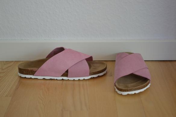 Lyserøde sandaler - VRS