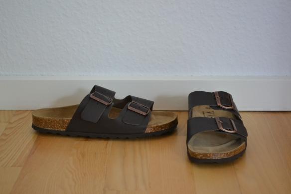 Mørkebrune sandaler - VRS