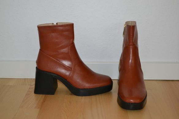 Brune chunky støvler - Raid