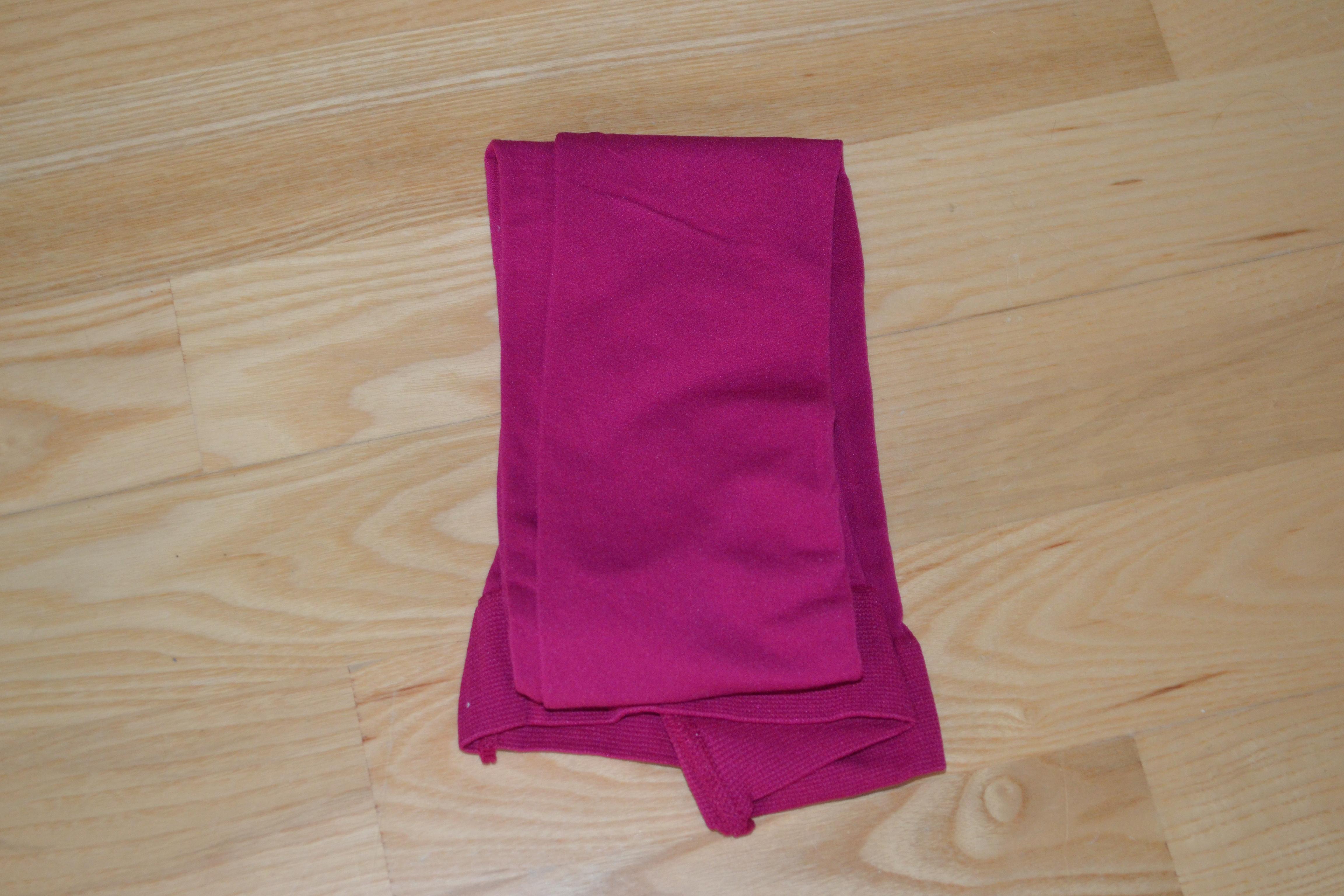 Pink strømpebukser