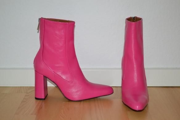 Fuchsia pink støvler - Zara