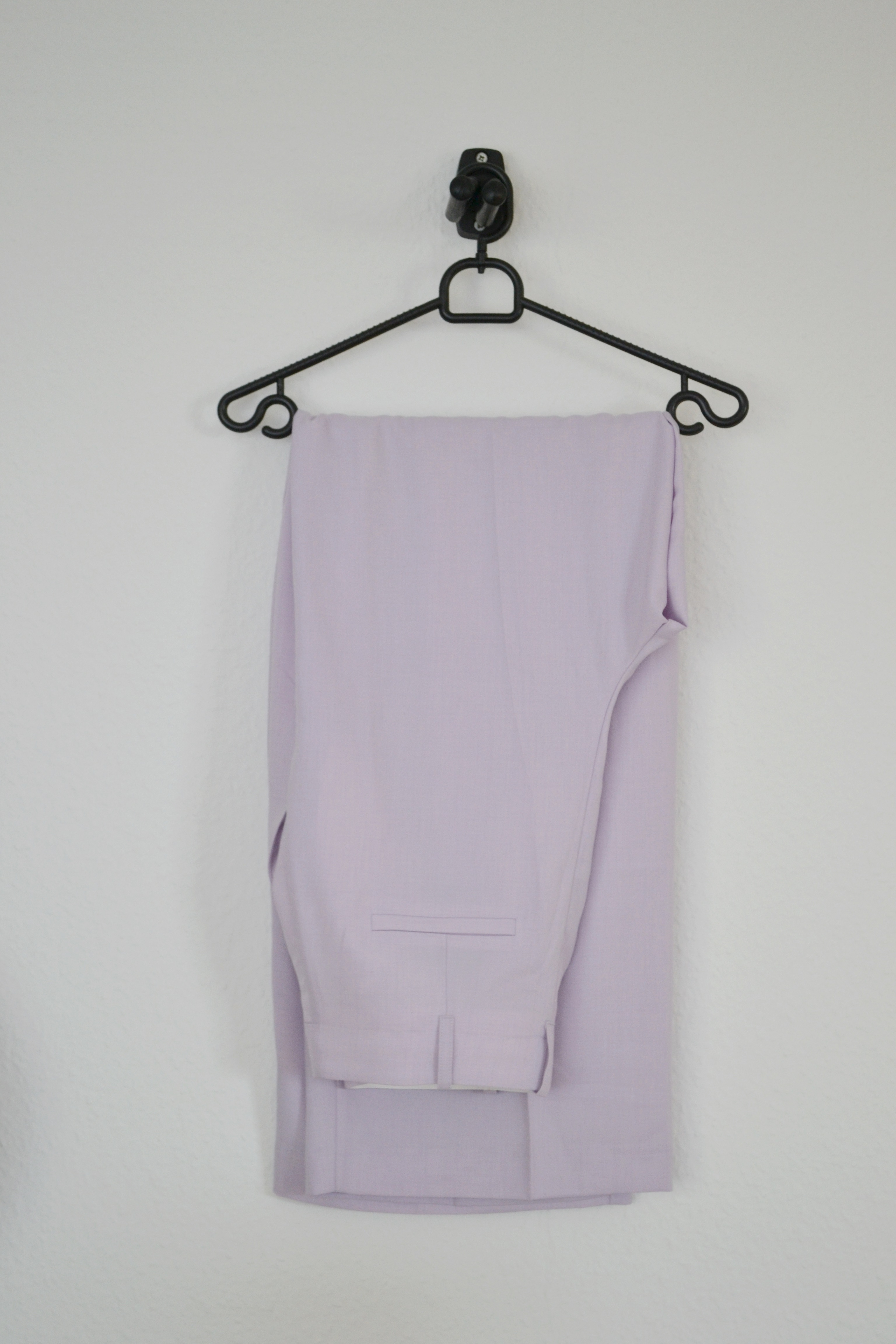 Lavendel bukser m. vide - H&M
