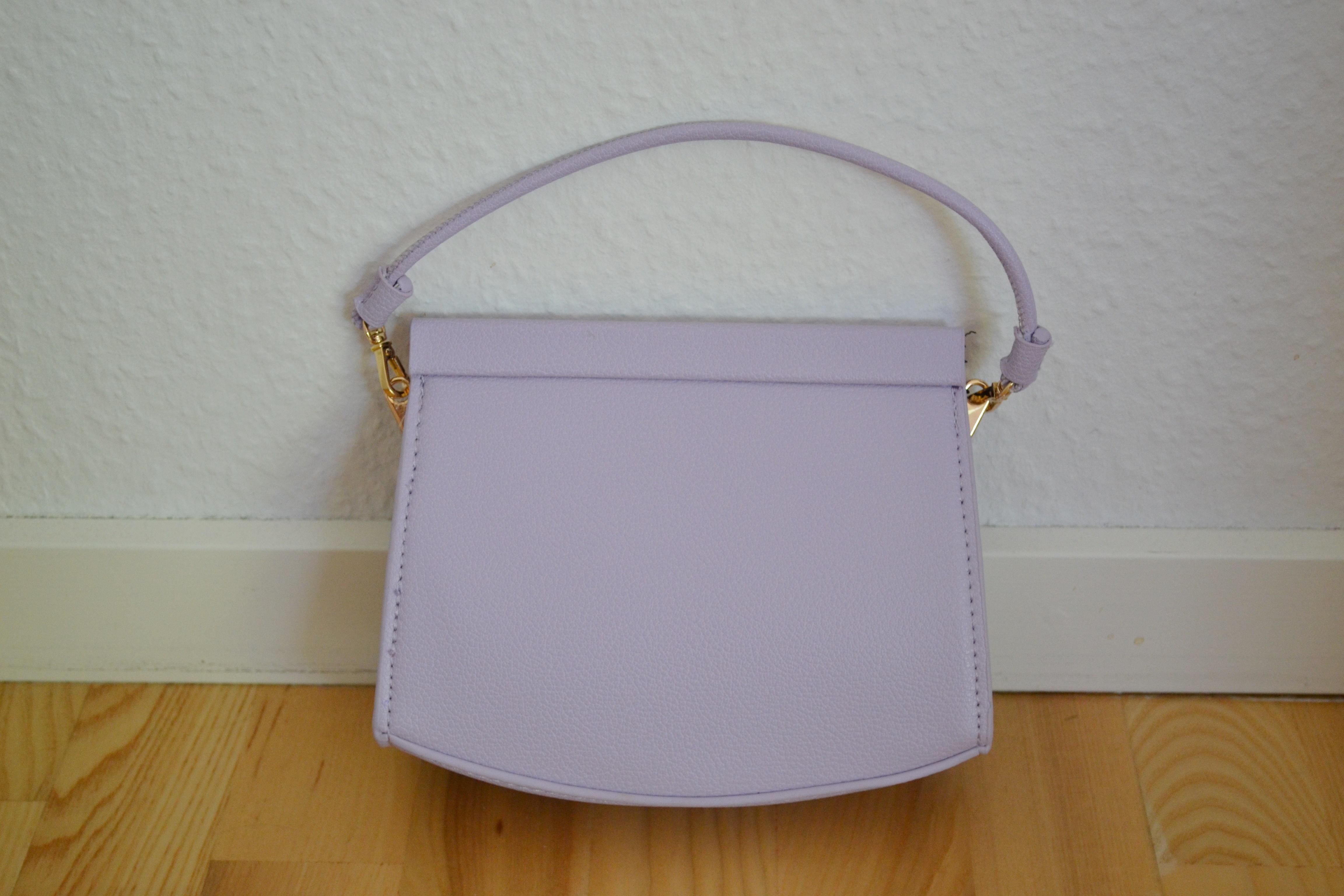 Lilac håndtaske - Mango