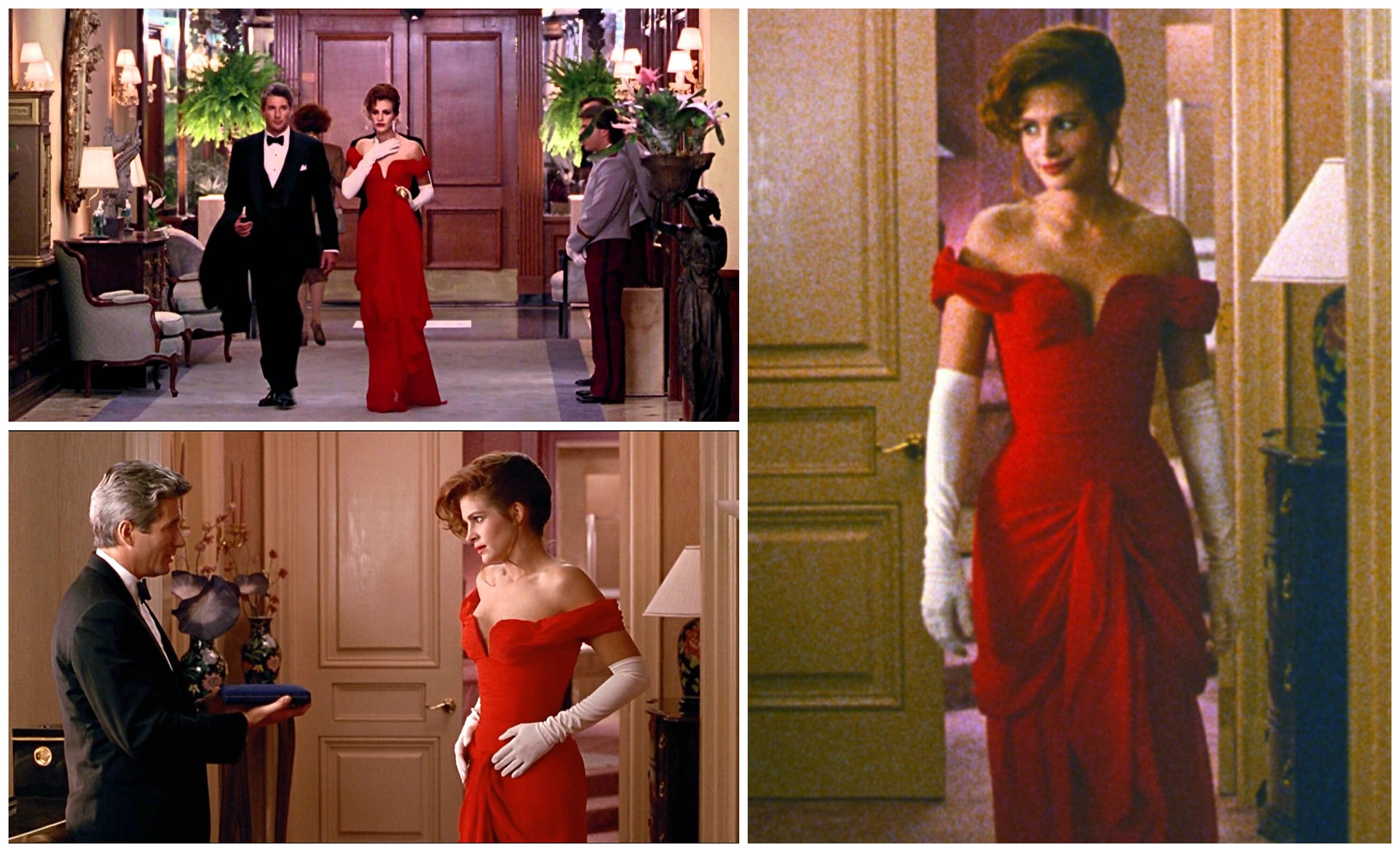 Red opera dress